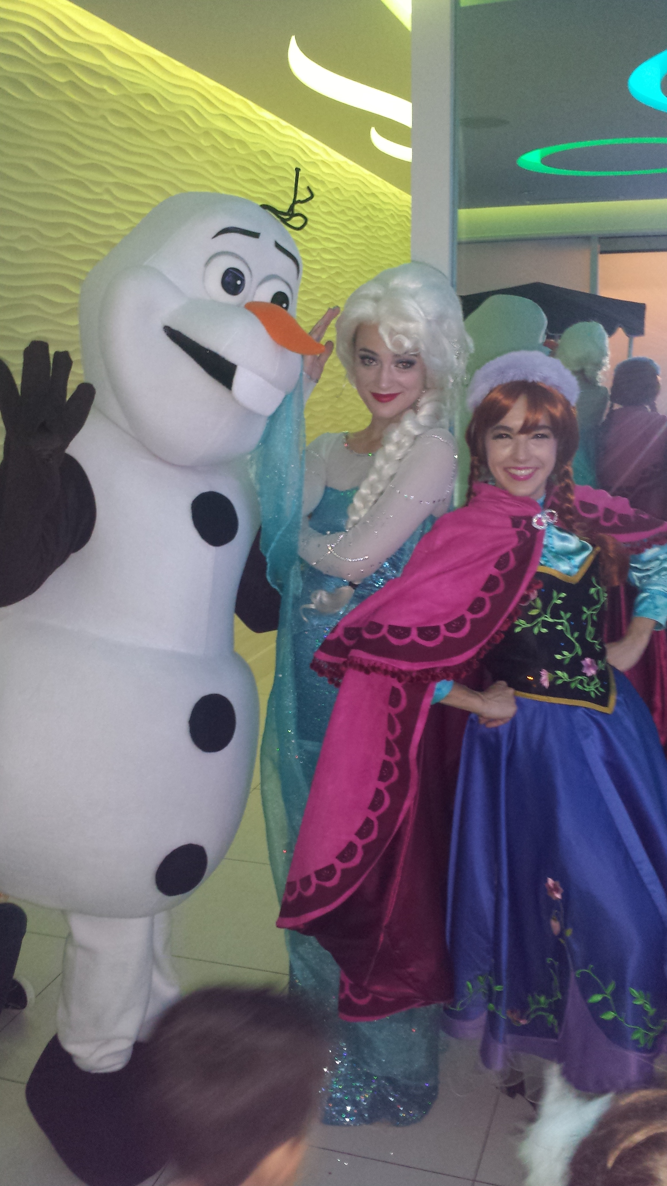 Frozen party was amazing! party image