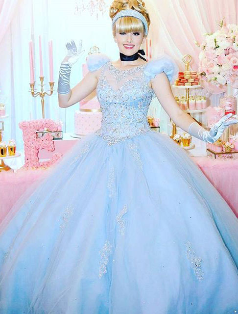 Cinderella was a hit! party image